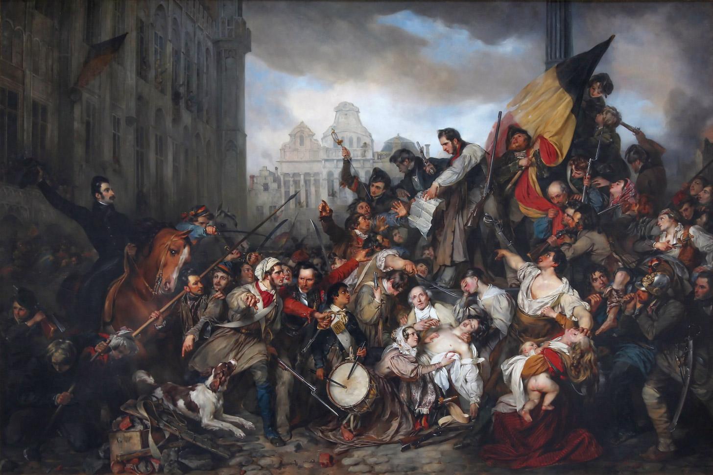 Belgische Revolutie in 1830